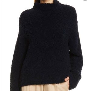 Vince Wool/Cashmere Funnel Neck Sweater